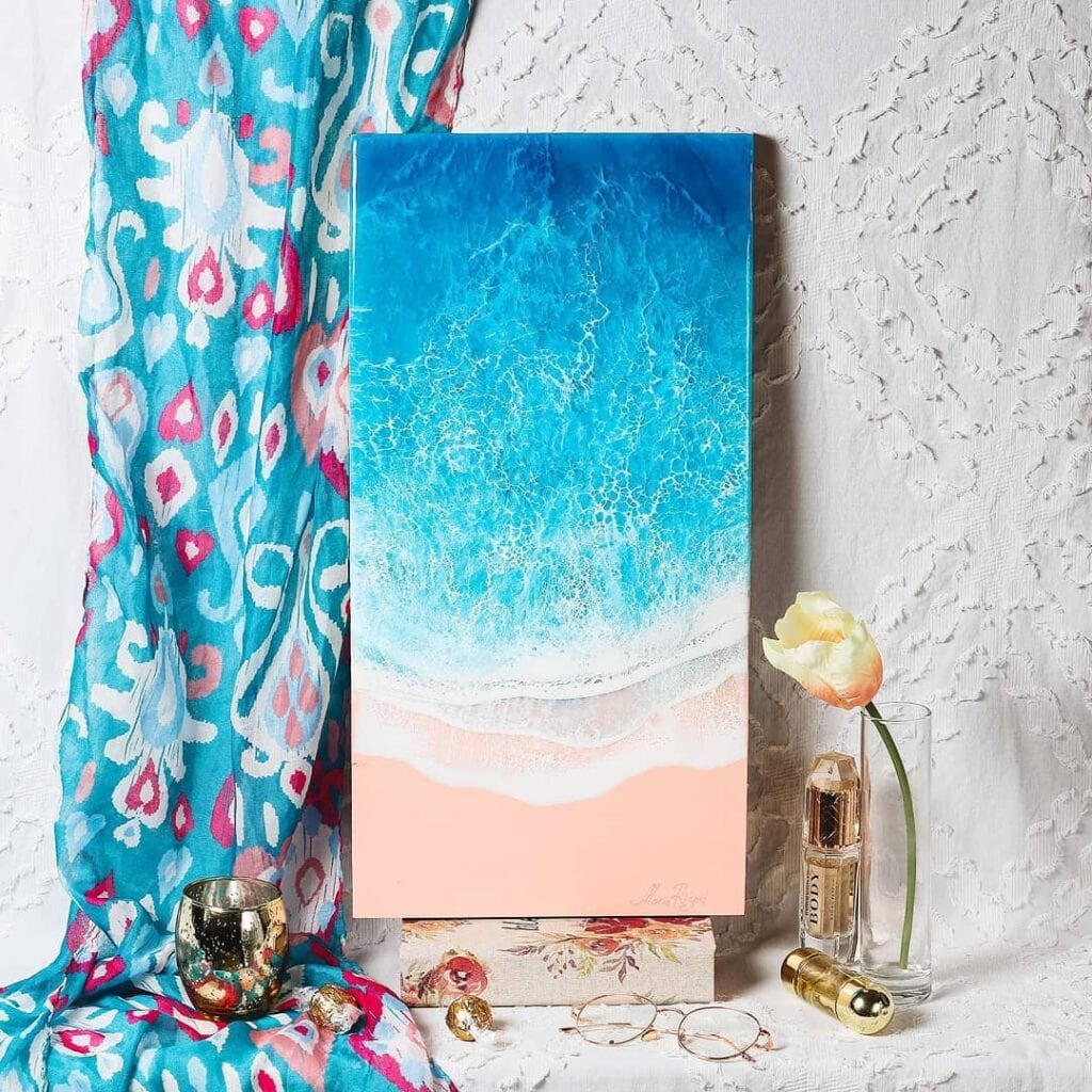 Maria Risen i wyjątkowe dekoracje inspirowane oceanem
