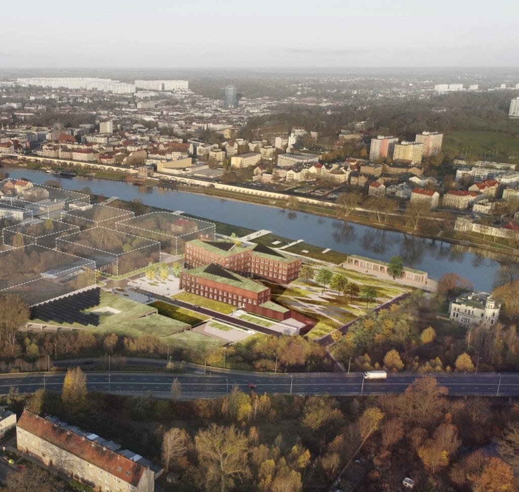 Miastotwórcza architektura od Kuryłowicz & Associates - Projekt nowej siedziby Urzędu Skarbowego w Gorzowie