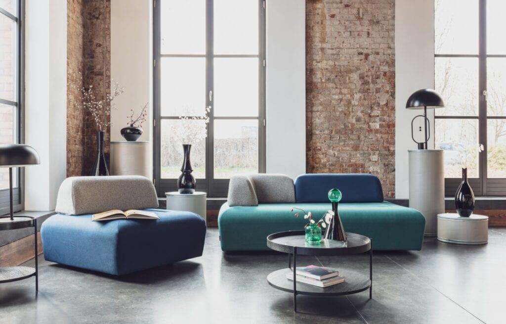 Modułowy zestaw siedzisk Miu Magic od marki Miuform