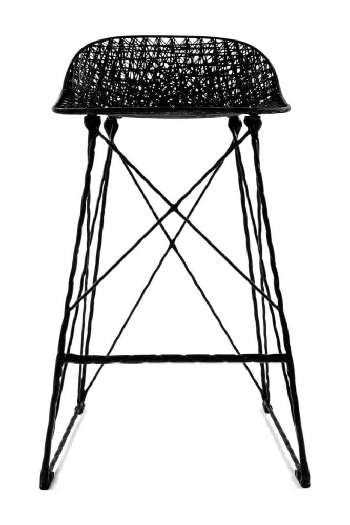 Moooi - meble i lampy w nowoczesnym stylu - Carbon Bar Stool