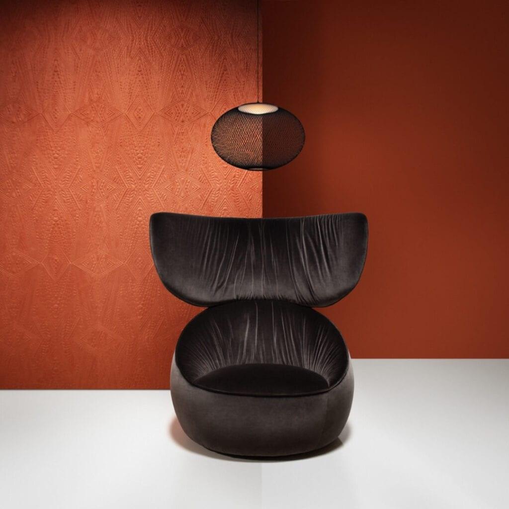 Moooi - meble i lampy w nowoczesnym stylu - Hana Armchair
