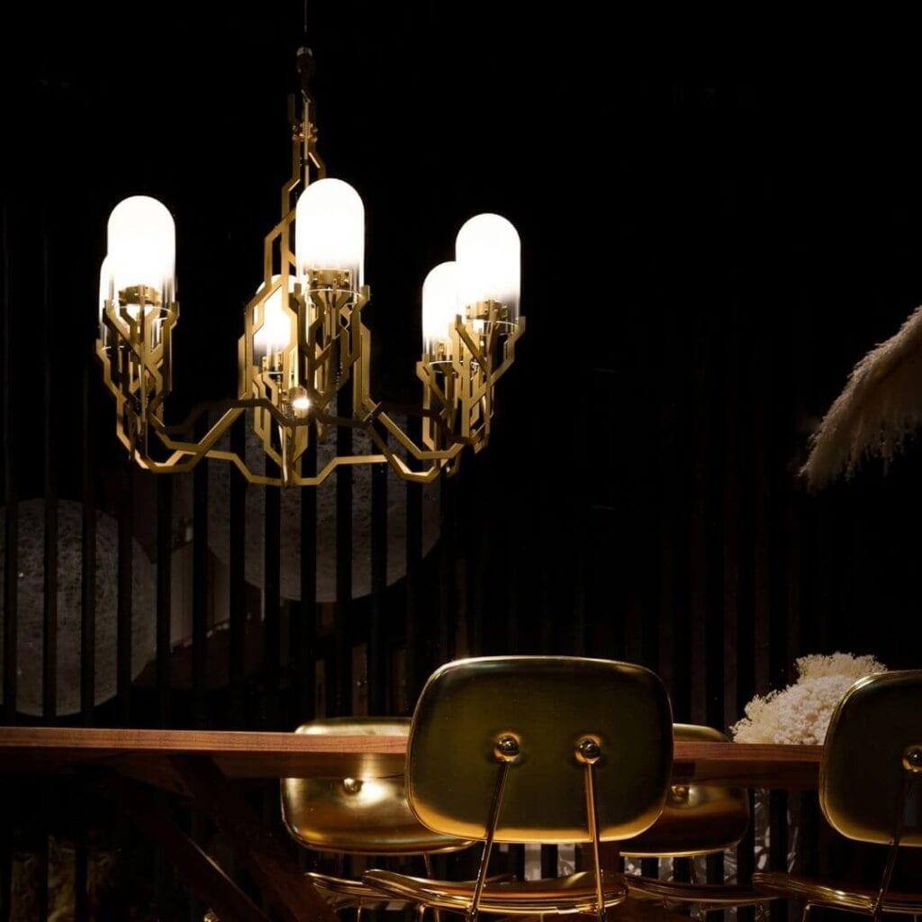 Moooi - meble i lampy w nowoczesnym stylu - The Plant Chandelier