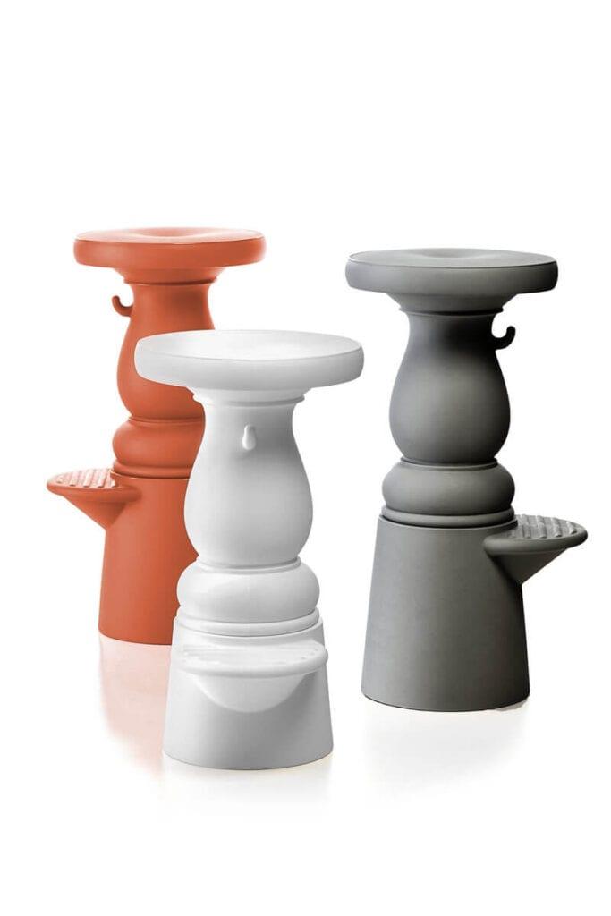 Moooi - meble i lampy w nowoczesnym stylu - Container Barstool