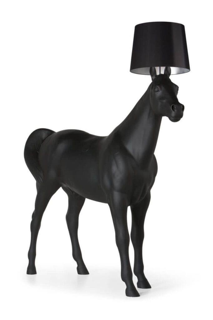 Moooi - meble i lampy w nowoczesnym stylu - Horse Lamp