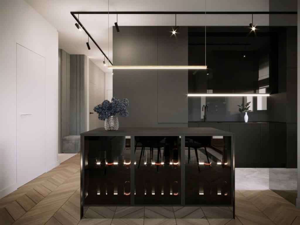 Połączenie elegancji i nowoczesności w projekcie MOOVIN INTERIORS