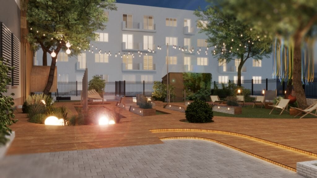 Wyjątkowy ogród edukacyjny dla Fundacji Dajemy Dzieciom Siłę - Architekci bez granic (OW SARP), pracownia architektoniczna Tremend
