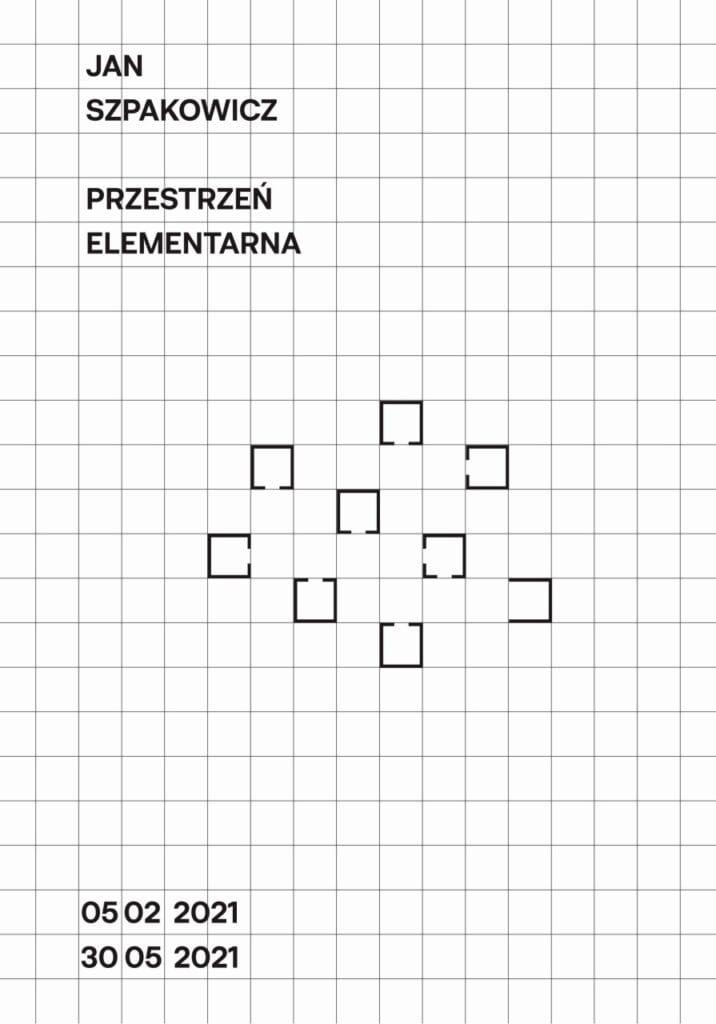 Wystawa Jan Szpakowicz. Przestrzeń elementarna w Muzeum Architektury we Wrocławiu