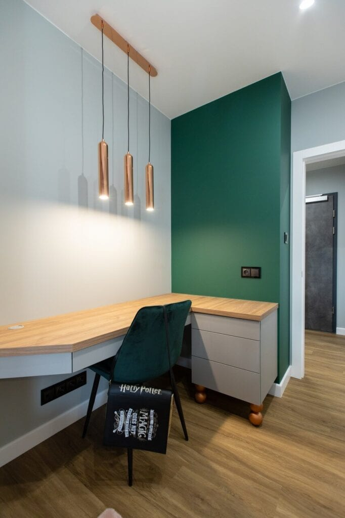 60-metrowe mieszkanie w Kielcach - eleganckie i funkcjonalne - projekt Malwina Kuzera - foto Piotr Seweryn