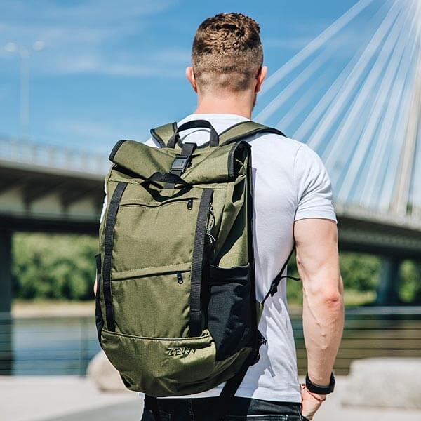7 pomysłów na prezent na Dzień Mężczyzny - Plecak Zew City dla fanów pieszych wędrówek