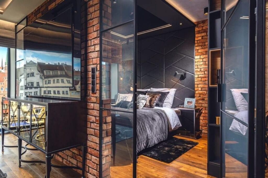 Apartament w stylu soft loftowym projekty ARTE DIZAIN
