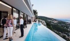 Calvi Ceschia Viganò Architetti i dom na Lazurowym Wybrzeżu