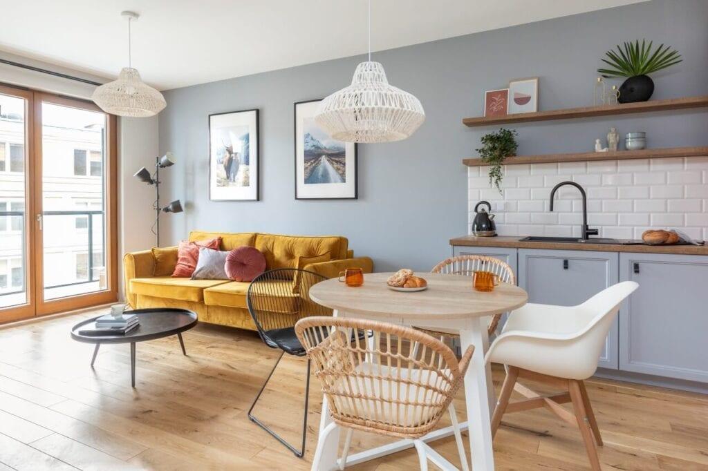 Decoroom i mieszkanie na wynajem w inwestycji Rezydencja Barska