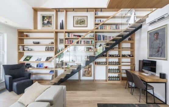 Dwupoziomowy apartament w Poznaniu projektu Plan 9 Studio Architektury
