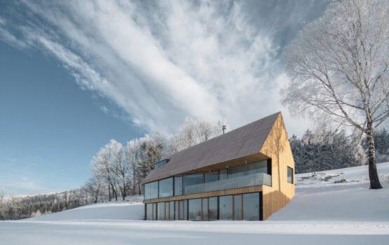 Wyjątkowy dom w Karkonoszach projektu Fránek Architects