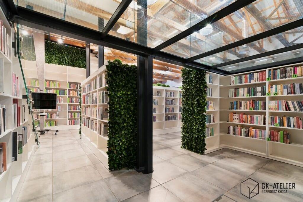 GK-Atelier Grzegorz Kłoda i projekt Biblioteka na Poziomie