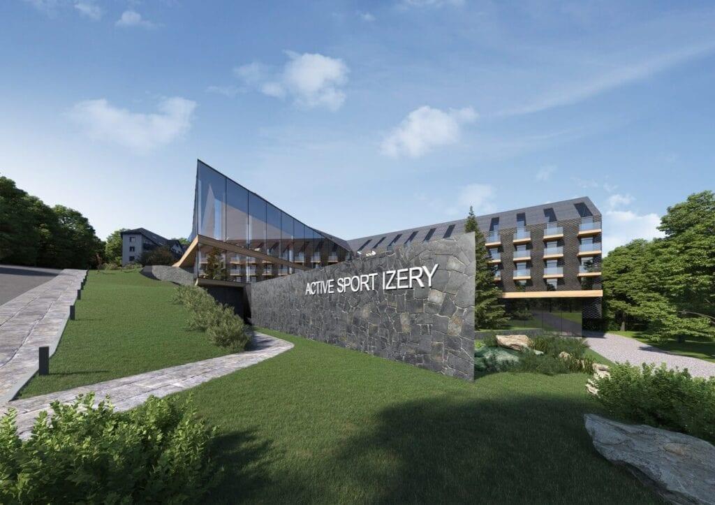 Hotele w górskich kurortach projektu pracowni KM rubaszkiewicz - Active Sport Izery