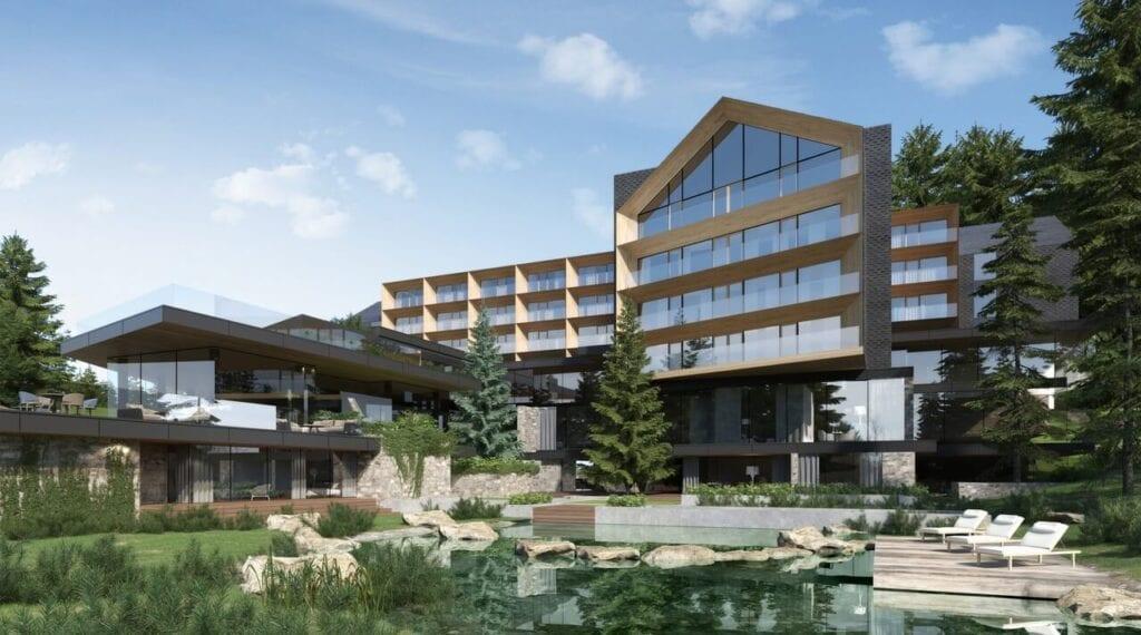 Hotele w górskich kurortach projektu pracowni KM rubaszkiewicz - Hotel Przełęcz Kubalonka