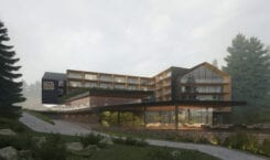 Hotele w górskich kurortach projektu pracowni KM rubaszkiewicz