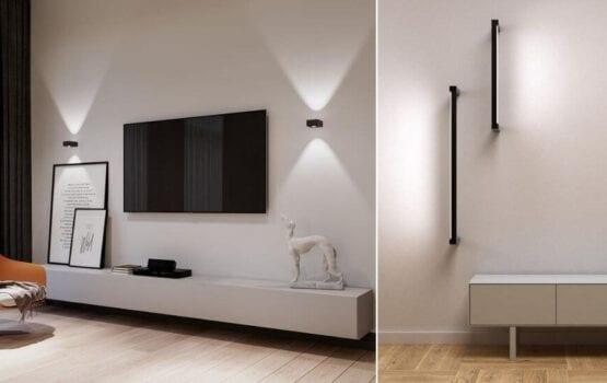 Jak oświetlić salon? Aranżacje korzystne dla wzroku od AQForm