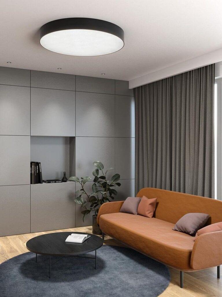 Jak oświetlić salon? Aranżacje korzystne dla wzroku od AQForm - BIG SIZE