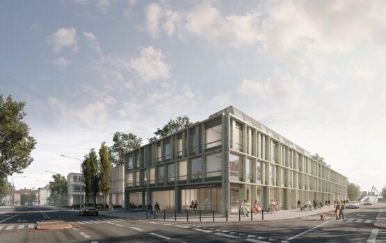 Koncepcja nowego budynku Nauk Społecznych Uniwersytetu Warszawskiego