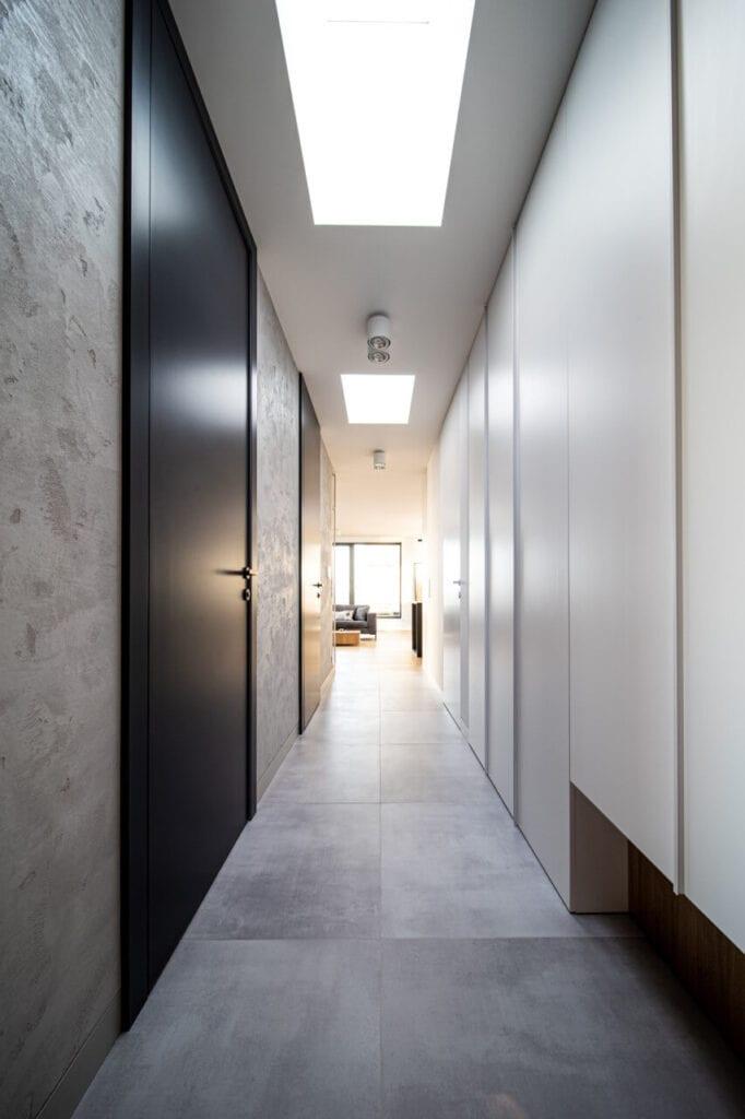 Mieszkanie w centrum Łodzi projektu Hanna Pietras Architects