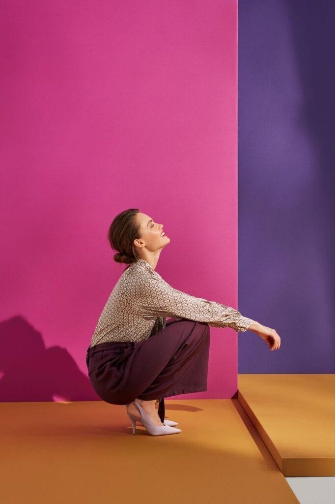 NeoFolk - Dorota Koziara x TATUUM i kolekcja inspirowana polską tradycją - bluzka LILENA - spodnie KAMILA