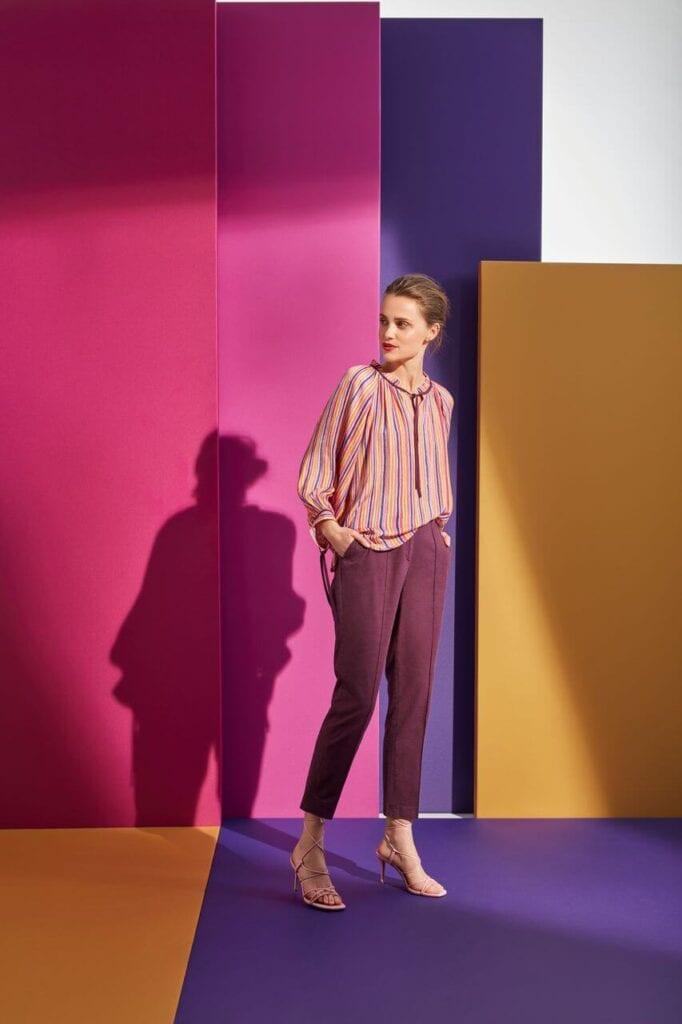 NeoFolk - Dorota Koziara x TATUUM i kolekcja inspirowana polską tradycją - bluzka SLAWA - spodnie MARITA