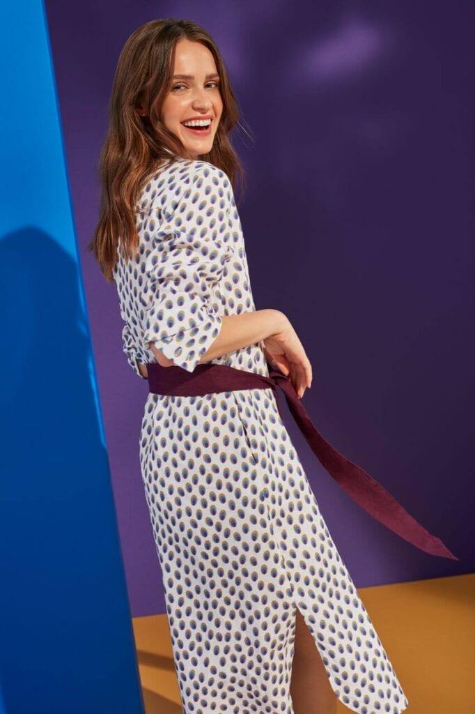 NeoFolk - Dorota Koziara x TATUUM i kolekcja inspirowana polską tradycją - sukienka LAMOKINA