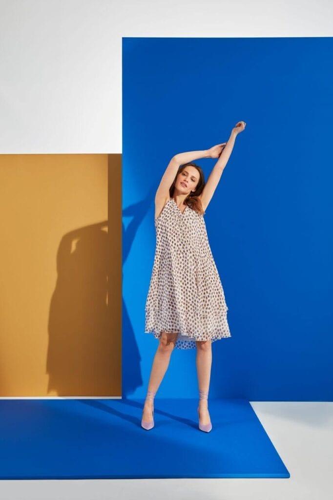 NeoFolk - Dorota Koziara x TATUUM i kolekcja inspirowana polską tradycją - sukienka OLIA