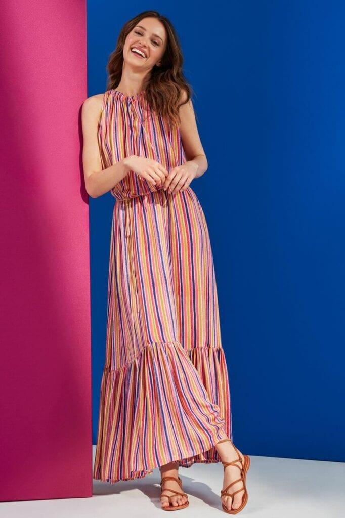 NeoFolk - Dorota Koziara x TATUUM i kolekcja inspirowana polską tradycją - sukienka PAULA