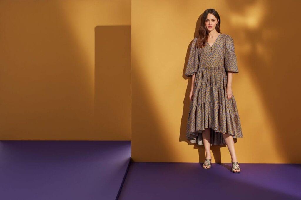 NeoFolk - Dorota Koziara x TATUUM i kolekcja inspirowana polską tradycją - sukienka SAFIANA