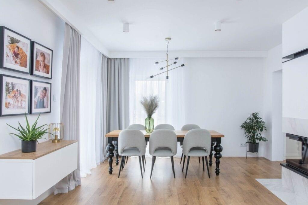 SOINTERIORS i wnętrze domu jednorodzinnego na obrzeżach Łodzi - foto Anna Mikońska A Propos Photography