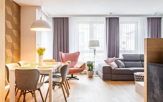 72-metrowe mieszkanie we Włochach projektu pracowni Modify