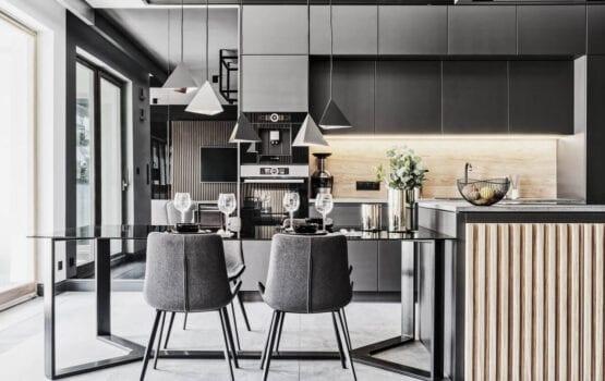 Apartament dla warszawskiego biznesmena projektu 22pm Studio Design