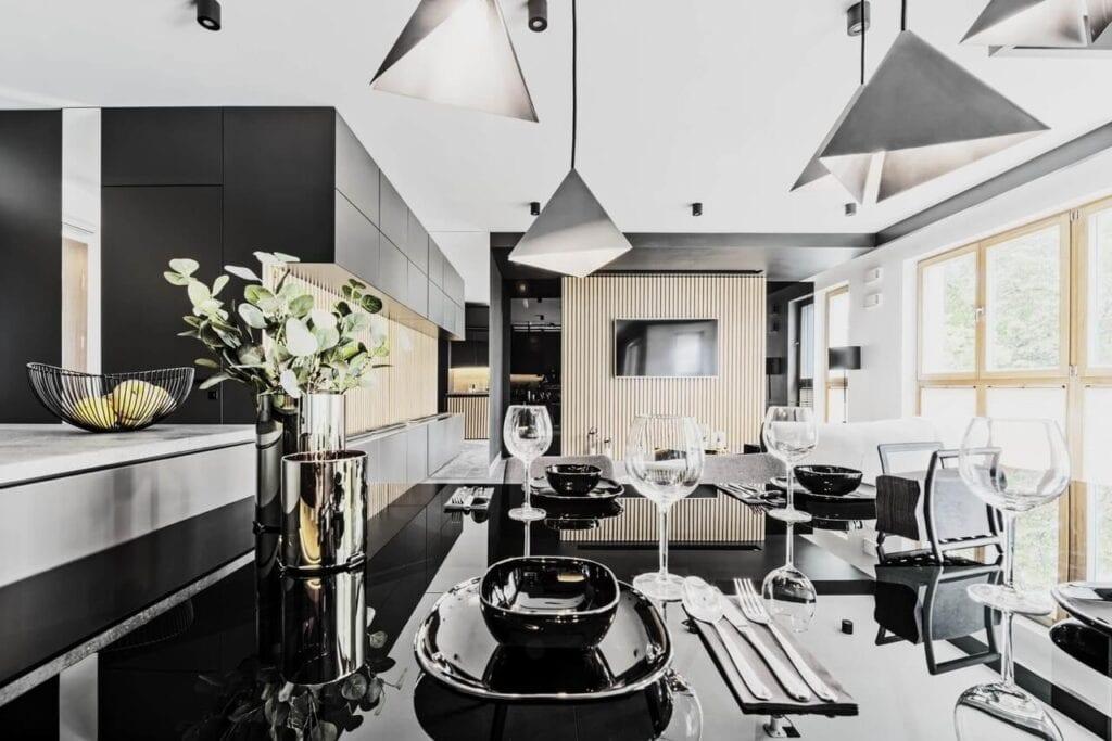 Apartament dla warszawskiego biznesmena projektu 22pm Studio Design - foto Mariusz Klarowicz