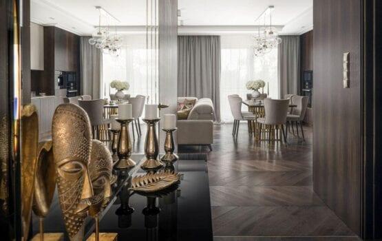 Apartament pełen elegancji projektu Magdaleny Miśkiewicz