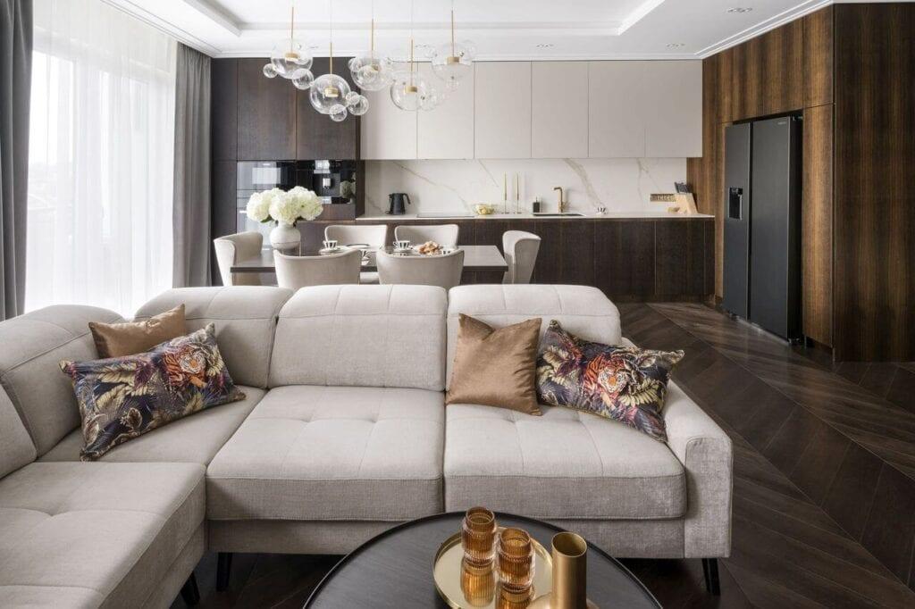 Apartament pełen elegancji projektu Magdaleny Miśkiewicz - foto Łukasz Zandecki