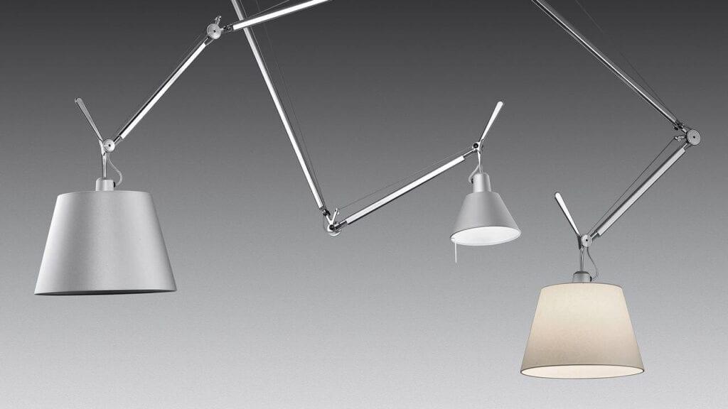 Artemide – wyjątkowe oświetlenie z włoską duszą - lampa Tolomeo Decentrata Suspension