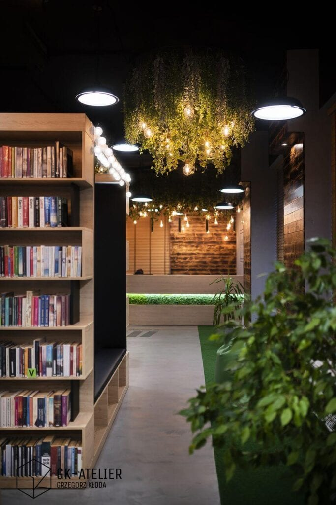 Bioteka - prawdopodobnie najbardziej zielona biblioteka w Europie - foto Piotr Arnoldes