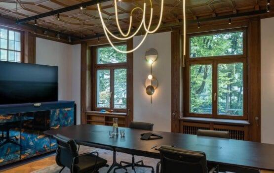 Biura w historycznej willi w Zurychu projektu Boris Kudlička with Partners