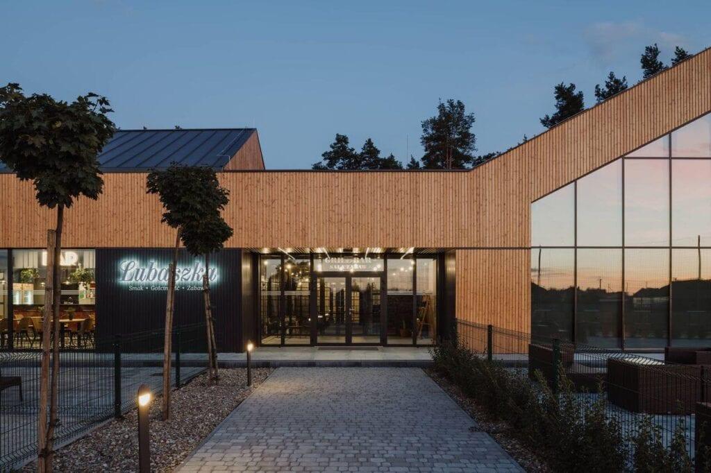Dom weselny Lubaszka - wyjątkowy dom weselno-eventowy - projekt MEEKO Architekci
