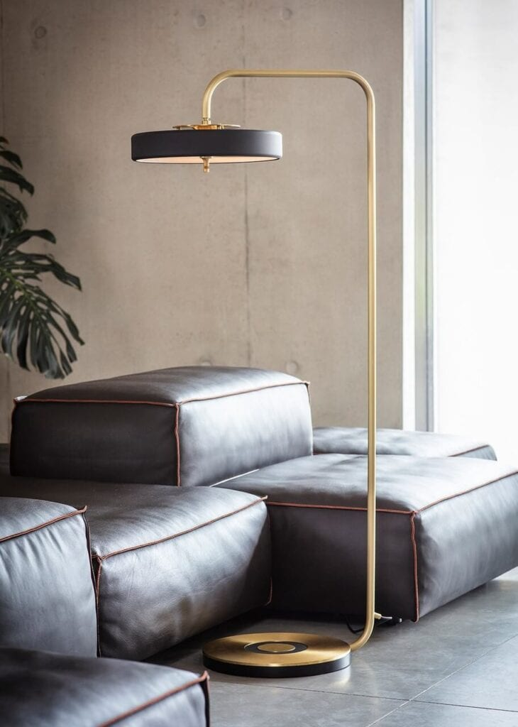 Ekskluzywne oświetlenie od Bert Frank - lampa Revolve Floor