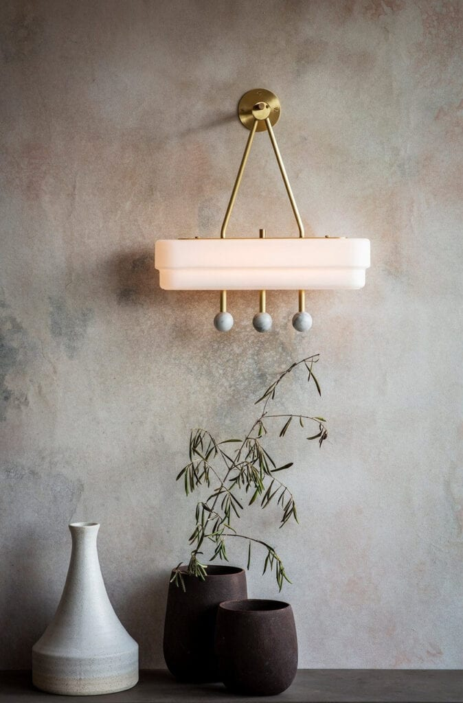 Ekskluzywne oświetlenie od Bert Frank - lampa Spate Wall