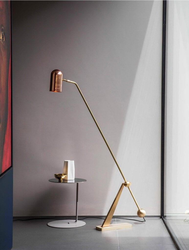 Ekskluzywne oświetlenie od Bert Frank - lampa Stasis Floor