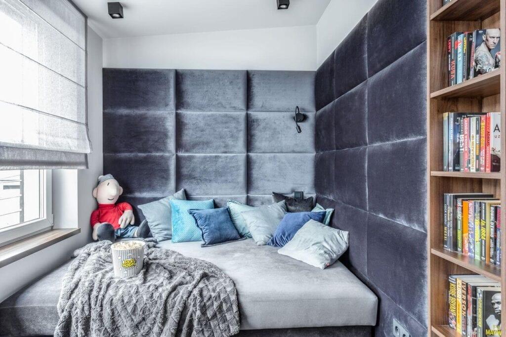 Grupa Siedem i wnętrza domu w zabudowie bliźniaczej - projekt Agnieszka Morawiec