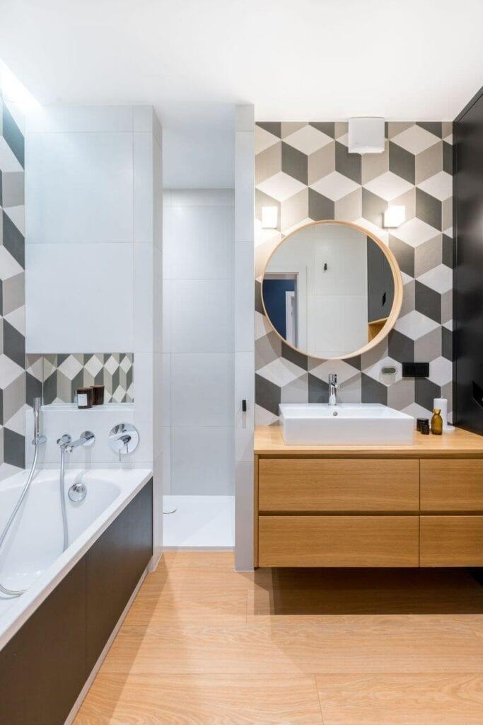 Komfortowe mieszkanie dla rodziny z dwójką dzieci od InDe Projekt - foto Bartek Bieliński