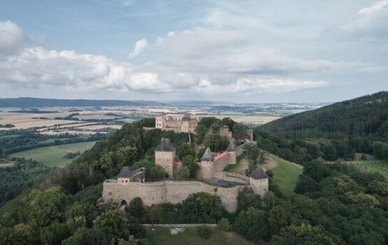 Spektakularna rekonstrukcja i renowacja zamku Helfštýn