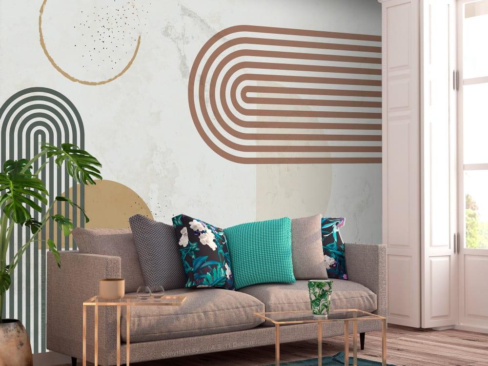 Tapety i fototapety - wyjątkowe dekoracje ścienne od Bimago - Harmonijne kształty