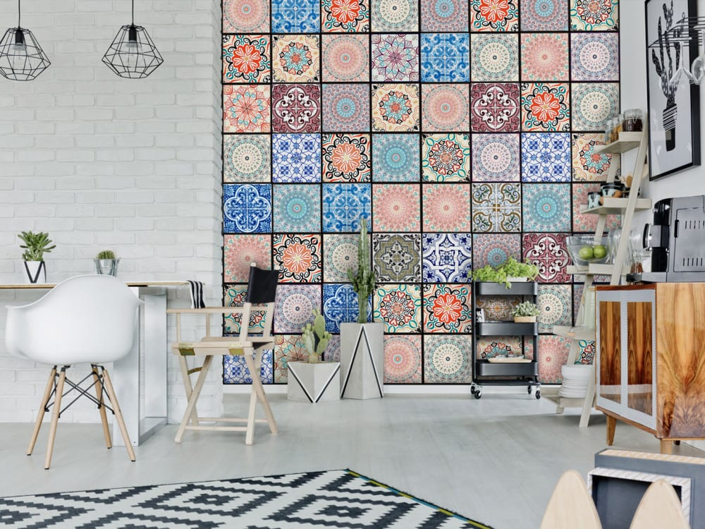 Tapety i fototapety - wyjątkowe dekoracje ścienne od Bimago - Kolorowa ornamentyka
